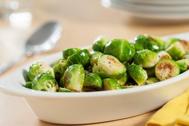 Duck fat brussels sprouts