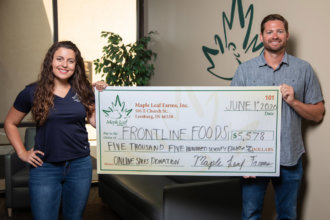 Maple Leaf Farms Donates to Frontline Foods 1