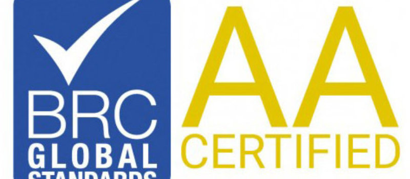 Brc global standards AA