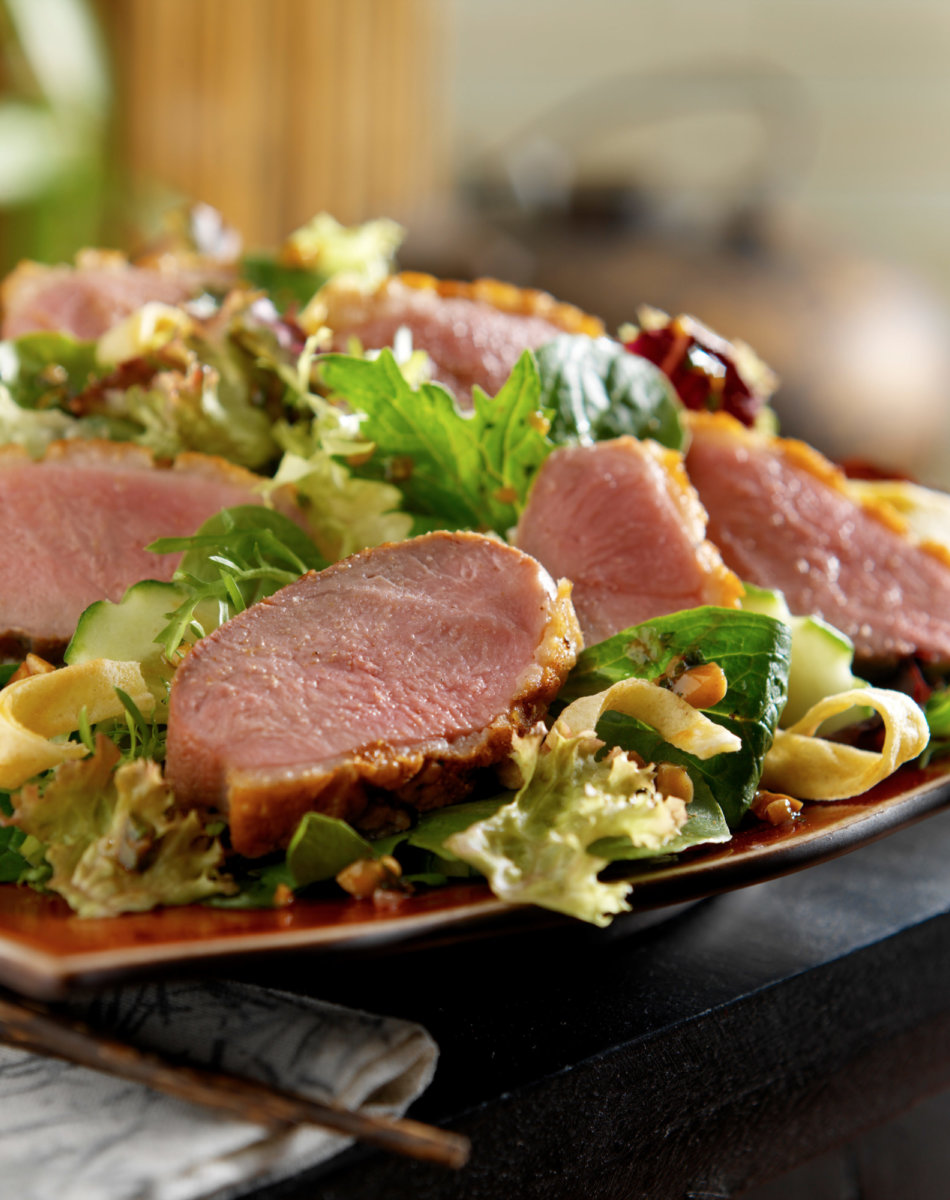 Asian duck salad xl