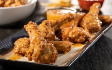 Orange Sauce Duck Wings