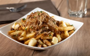 Pulled Duck Poutine with Duck Fat Fries