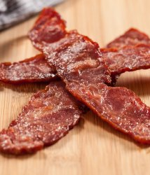 Duck bacon