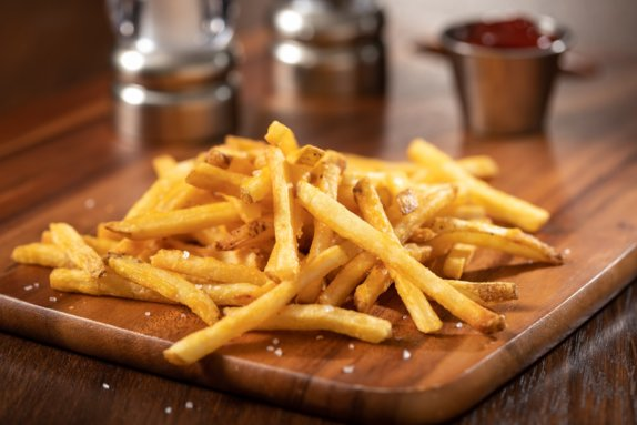 Duck Fat Fries w ketchup Copyright 2020