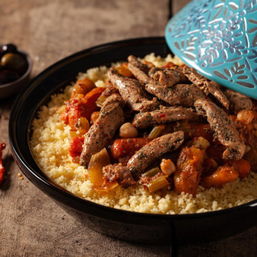 North african duck tenders traditional