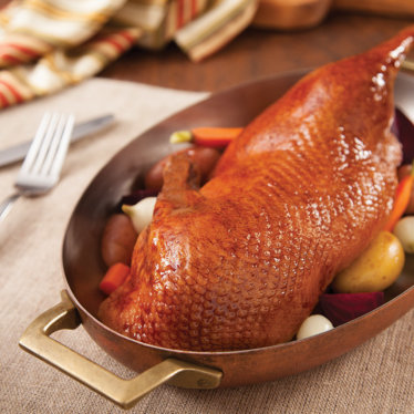 Roast Half Duck Plated