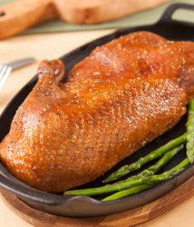 Rotisserie half duck