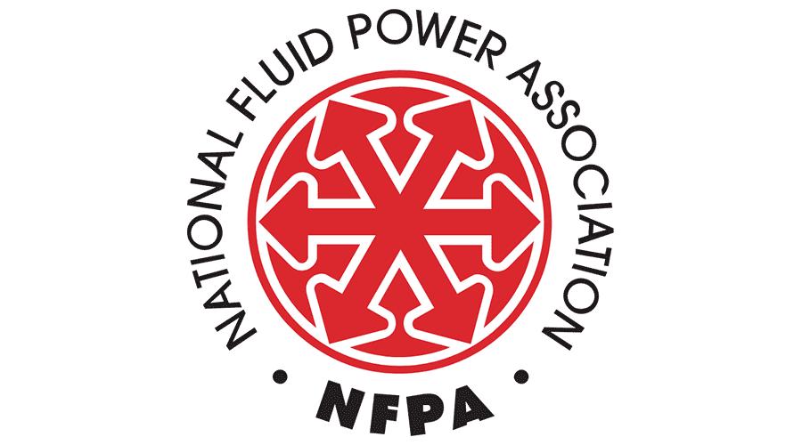 National fluid power association nfpa vector logo