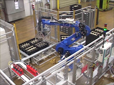 Robot Assembly Unload