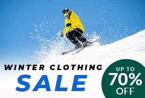 Winter clothing sale %70 off