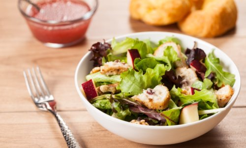 Sandras Chicken Brie and Apple Salad