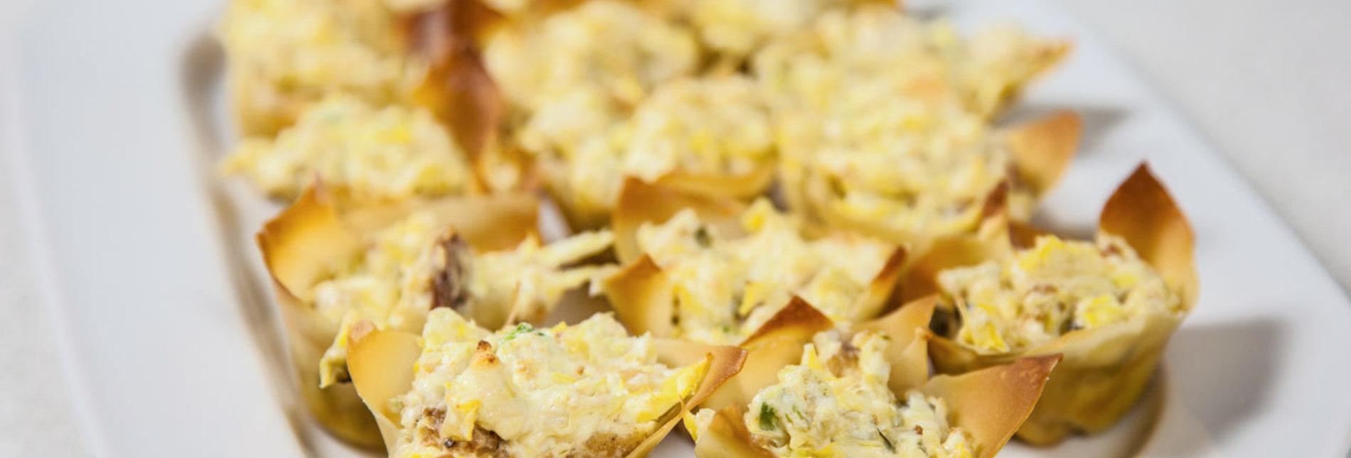 Sandras chicken jalapeno artichoke bites recipe