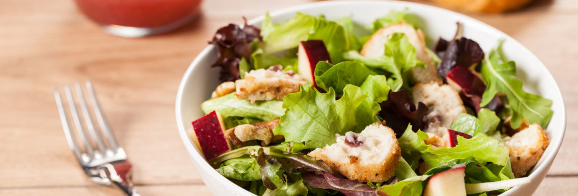 Sandras chicken brie and apple salad recipe