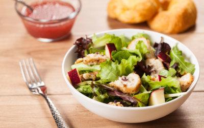 Sandras chicken brie and apple salad recipe