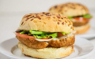 Sandras chicken cordon bleu sandwich recipe