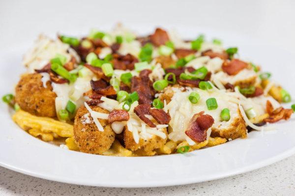 Sandras chicken waffle fry poutine recipe