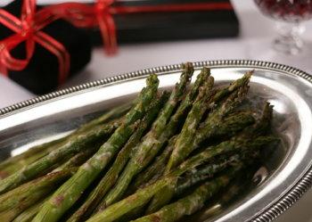 Roast Asparagus n Romano Cheese