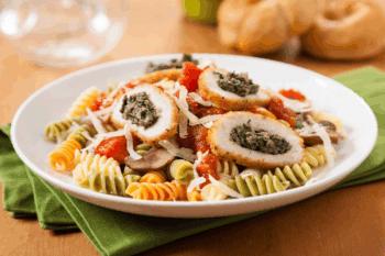 Sandras Chicken Florentine Pasta