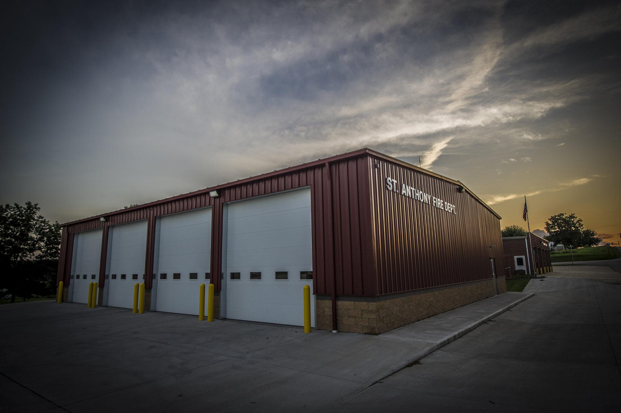 St anthony fire station