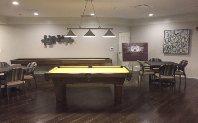 Colonial interior activity room
