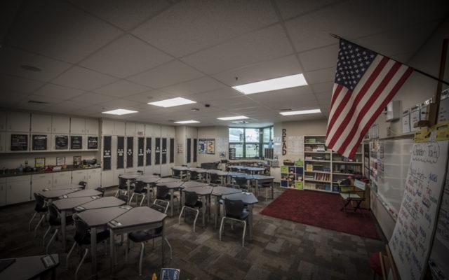 Ireland elementary classroom