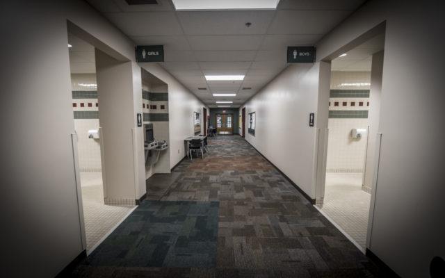 Ireland elementary hallway