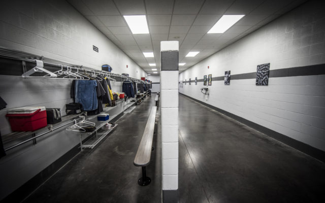 Jet locker area