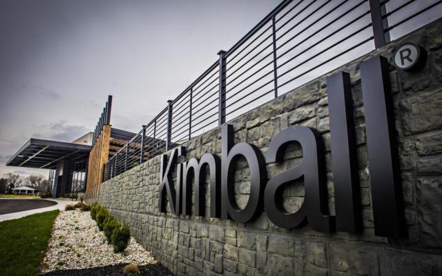 Kimball exterior concrete wall