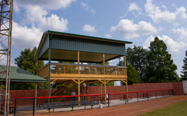 League stadium viewing platform 10