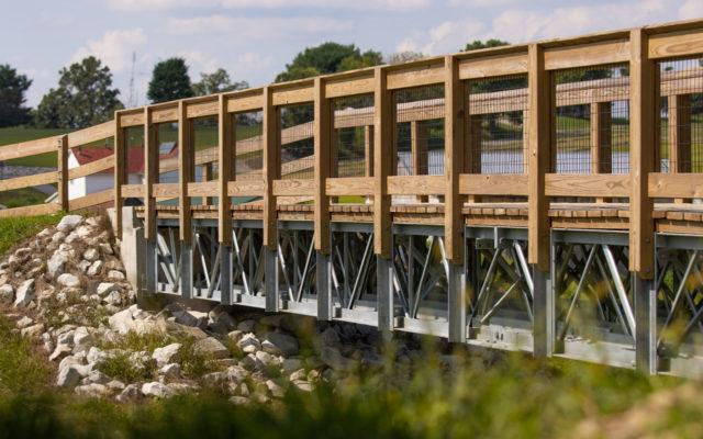 Ferdinand old town lake bridge