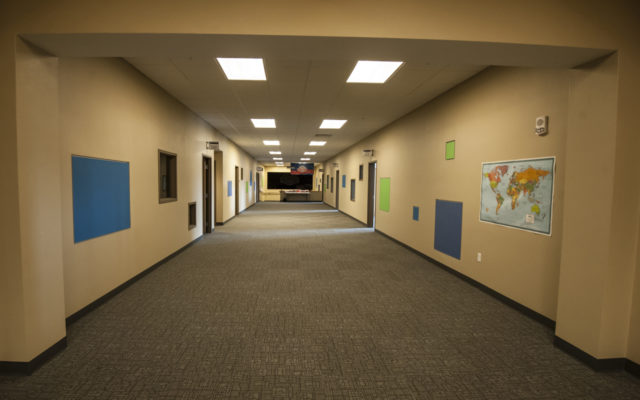 Redemption hallway