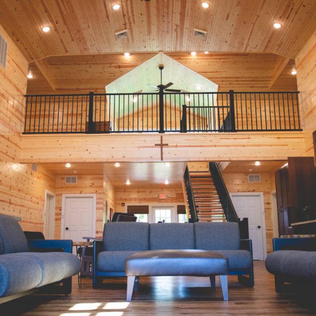 Bunkhouse livingroom
