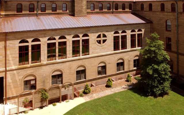 St meinrad archabbey copper roof
