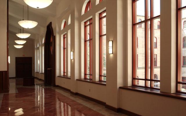 St meinrad hallway