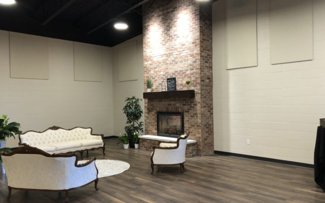 Venue 1408 fireplace