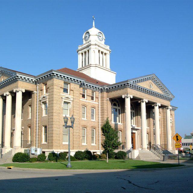Dubois county courthouse