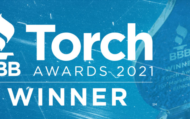 """The ROP Shop would like to thank the Better Business Bureau of Northern Indiana for honoring us with the BBB Torch Award for 2021. We're humbled not only to receive this award but also to be part of this wonderful community. As stated on the BBB's website, """"The Torch Awards is the most prestigious honor the BBB can present to a business or individual. Recipients not only believe in the high standards promoted by the BBB but live it out. The awarded company encourages and supports ethical business practices and leadership while acting on them and continuously integrating them into daily practices."""""""