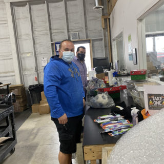 ROP Shop employees volunteer their time to help Samaritan's Purse Operation Christmas Child.