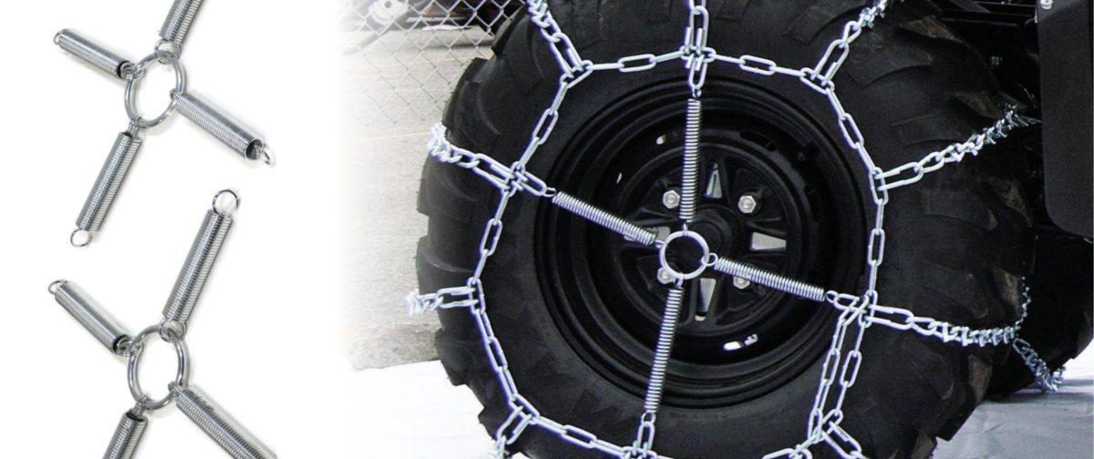 Tire Chains and tensioners ad