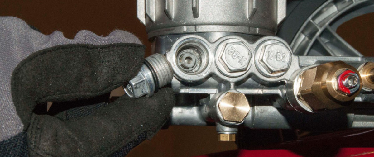 When a pressure washer pump fails, it tends to be the small parts that go bad. Even though the check valve is small, they serve a much larger function within the pressure washer. Follow these easy installation instructions from The ROP Shop's Rugged U on how to change out your Annovi Reverberi pressure washer pump check valves.
