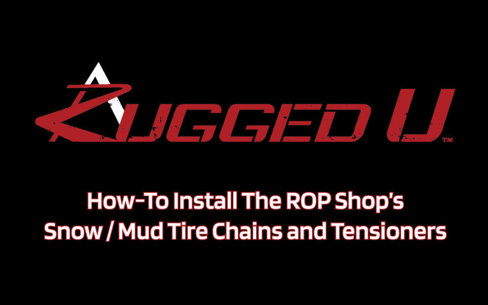 Video intro screen for Rugged U