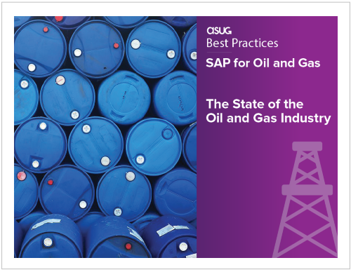 ASUG Best Practices SAP for Oil and Gas Research Report