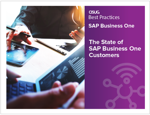 ASUG Research Report The State of SAP Business One Customers