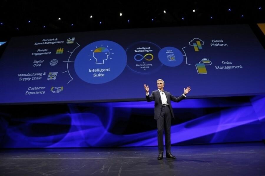 2018 Sapphire Intelligent Enterprise Keynote 700X466