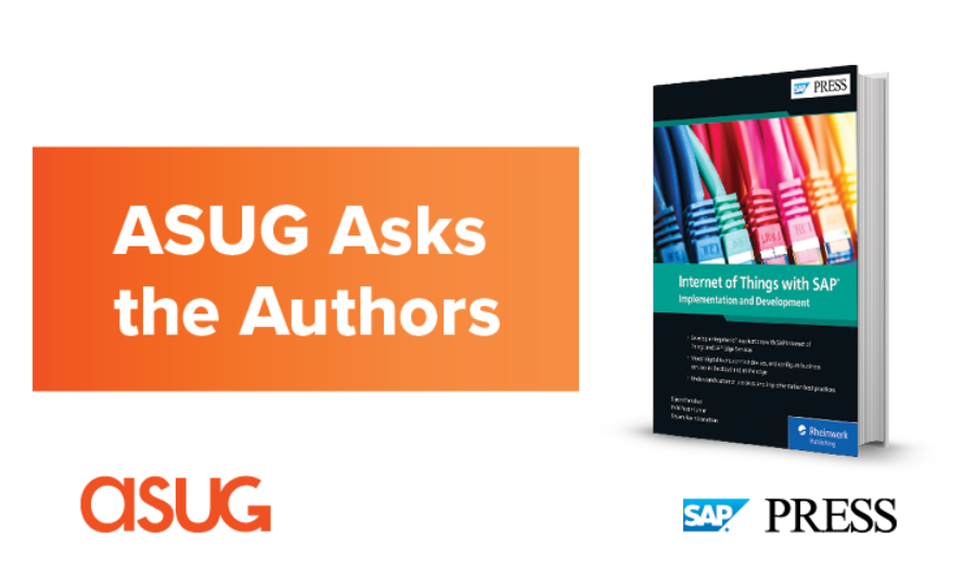 ASUG Asks the Authors IoT book cover