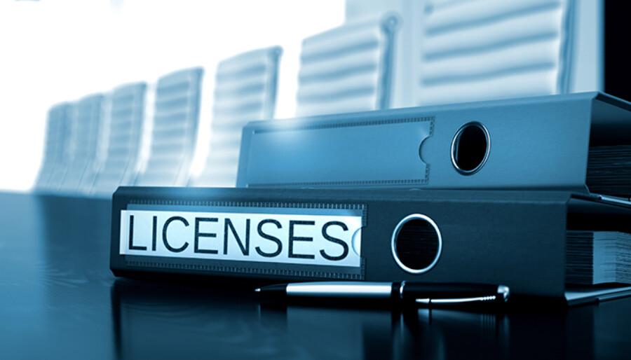 Licensing Binder