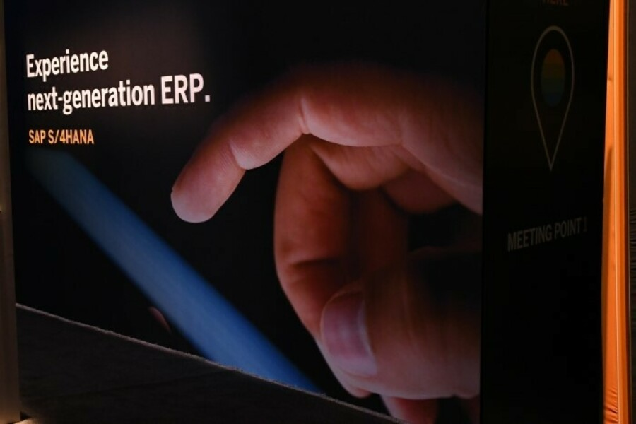 SAP S/4HANA Next Generation ERP sign