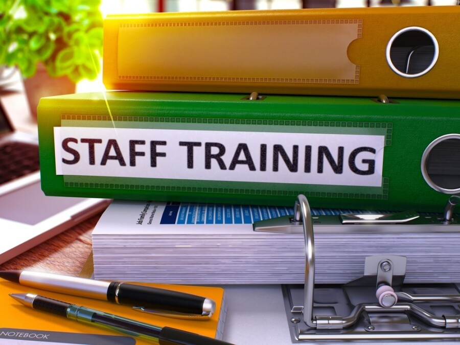 Staff 20 Training 20 20 Green 20 Office 20 Folder 20on 20 Background 20of 20 Working 20 Table 20with 20 Stationery 20and 20 Laptop 20 Staff 20 Training 20 Business 20 Concept 20on 20 Blurred 20 Background 20 Staff 20 Training 20 Toned 20 Image 203 D