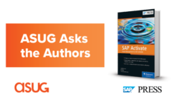 ASUG Asks the Authors: SAP Activate book from SAP Press