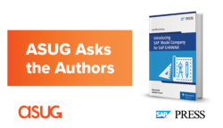 ASUG Asks the Authors SAP Press Book Cover: Introducing SAP Model Company for SAP S/4HANA